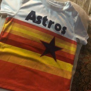 Astros dri fit toddler tee